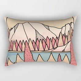 A warm autumn view  Rectangular Pillow