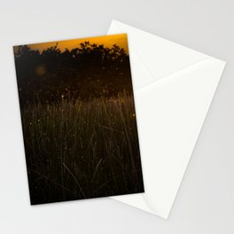 Sunset in the Fields Stationery Cards