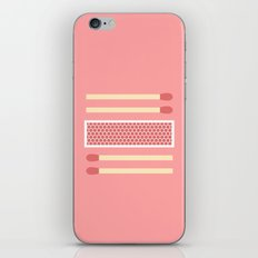 #75 Matches iPhone & iPod Skin