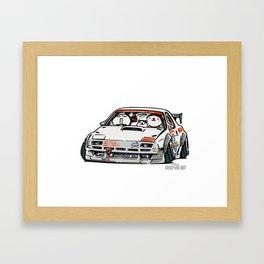 Crazy Car Art 0143 Framed Art Print