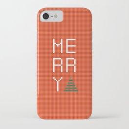 Merry iPhone Case