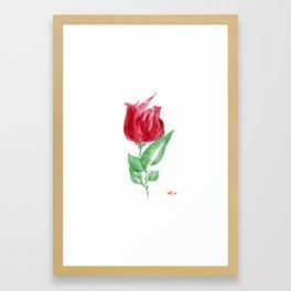 Simple beauty! Framed Art Print