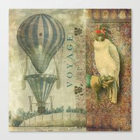 voyage Canvas Prints featuring Voyage by Aimee Stewart