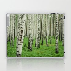 Forrest of white trees Laptop & iPad Skin
