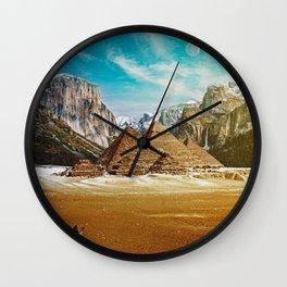 Sighted Wall Clock