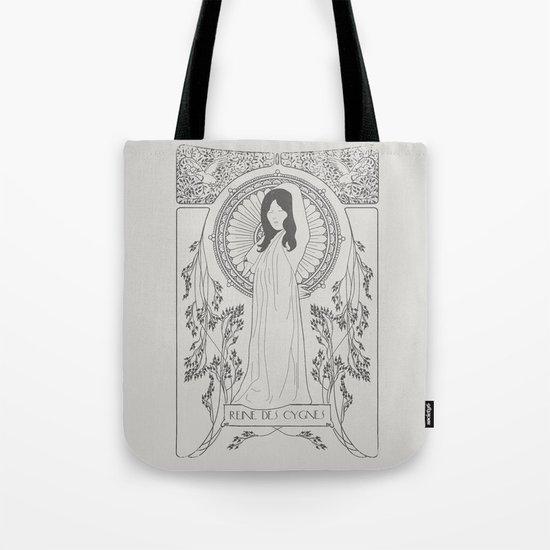 Reine des Cygnes (Grey) Tote Bag
