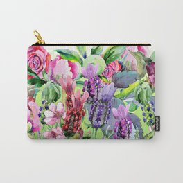 The Lavender Garden Carry-All Pouch