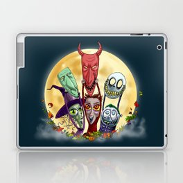 Trick or Treat - Lock, Shock, and Barrel  Laptop & iPad Skin