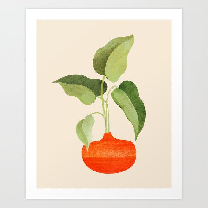 Beginnings / Plant Study Series Art Print