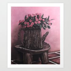 Trunk Pot Art Print