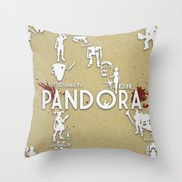 Welcome to Pandora Throw Pillow
