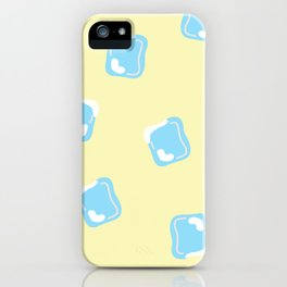 Ice Cubes in Cold Lemonade iPhone Case