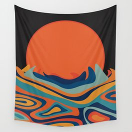 Blood Moon Wall Tapestry