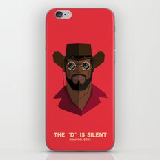 Django Unchained iPhone & iPod Skin