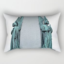 Oratory Angels  Rectangular Pillow