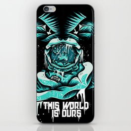 This World is ours iPhone Skin