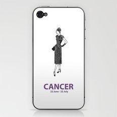 Cancer iPhone & iPod Skin