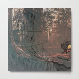 The World of Hearth Stone Metal Print