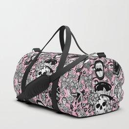 Pink Halloween Duffle Bag