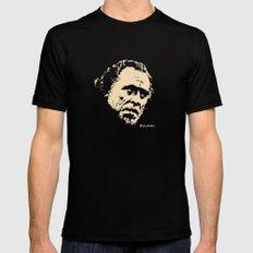 Bukowski#! Black Mens Fitted Tee X-LARGE