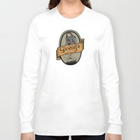 middle earth Long Sleeve T-shirts featuring Gandalf's Middle earth tour by SuperEdu