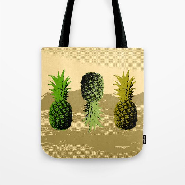 Pineapple Mountain Tote Bag