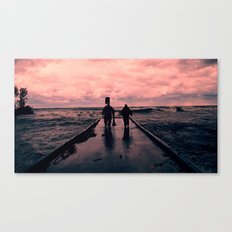 Good Day for Fishing Canvas Print