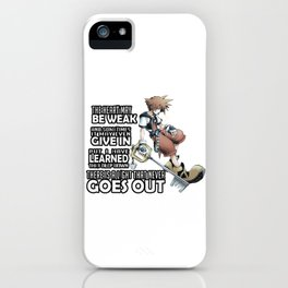 Kingdom Hearts Heart May Be Week iPhone Case