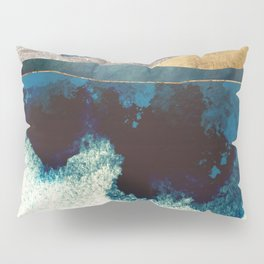 Blue Mountain Reflection Pillow Sham