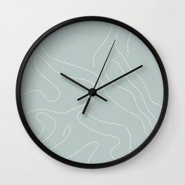 Drape III Wall Clock