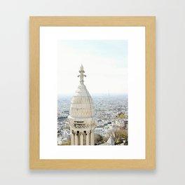 View of Paris from Sacré-Cœur Framed Art Print