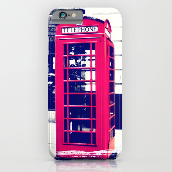 London Telephone Booth iPhone & iPod Case