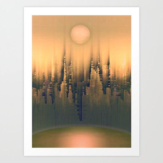 Reversible Space III Art Print