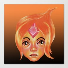 The Flame Princess Canvas Print