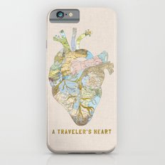 A Traveler's Heart Slim Case iPhone 6