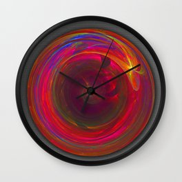 The circle of forever Wall Clock