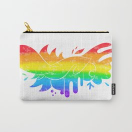 Pride (white line) Carry-All Pouch