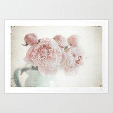Spring Peony Art Print