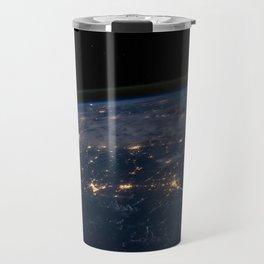Glittering World Travel Mug