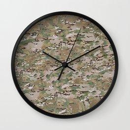 Multicam Camo 2 Wall Clock