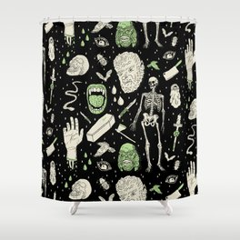 Whole Lotta Horror: BLK ed. Shower Curtain