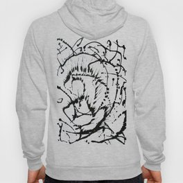 Black & White Abstract 1 Hoody