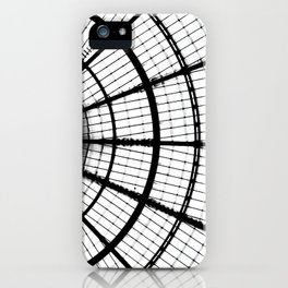 Lines and circles iPhone Case