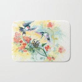 Hummingbirds Secret Garden Bath Mat