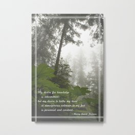 Perennial and Constant Metal Print