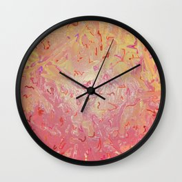 Interrupted Structures Wall Clock