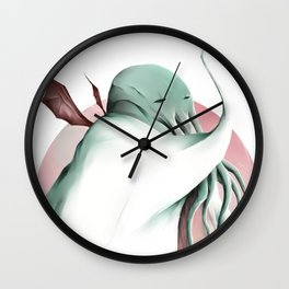 Cthulhu, conqueror of all worlds Wall Clock
