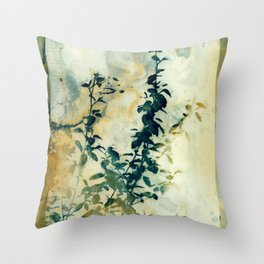 Shadows and Traces Throw Pillow