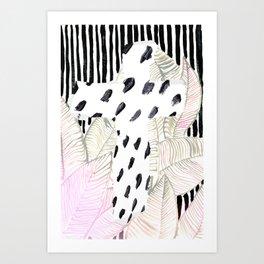 CRIS CROSS SPOTS Art Print