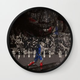 champion du monde Wall Clock